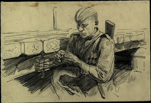 15 октября в Историческом парке состоится открытие мультимедийной выставки «Фронтовой портрет. Судьба солдата»